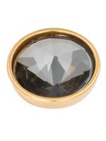 iXXXi Jewelry iXXXi top part pyramid black crystal