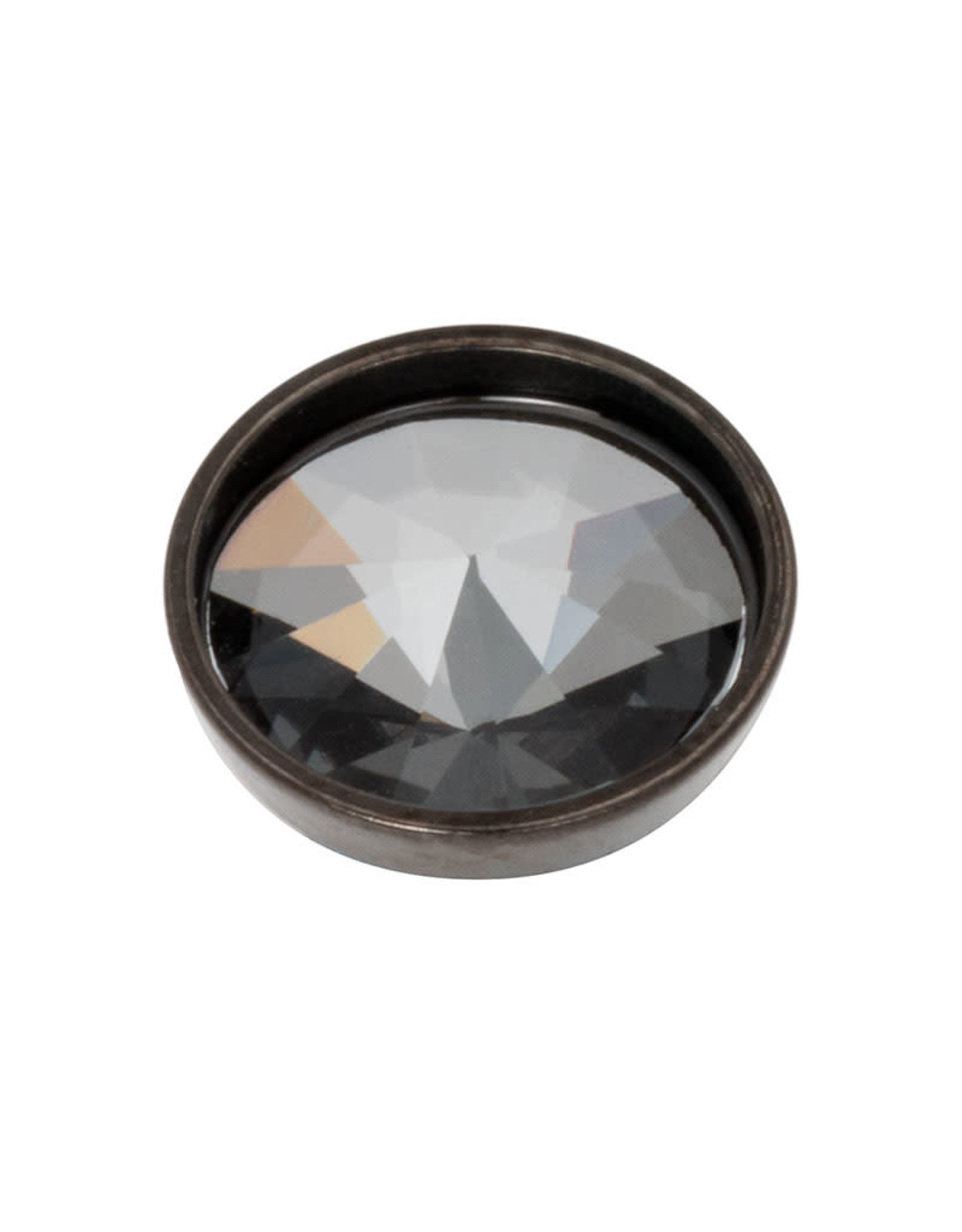 iXXXi Jewelry iXXXi top part pyramid black crystal