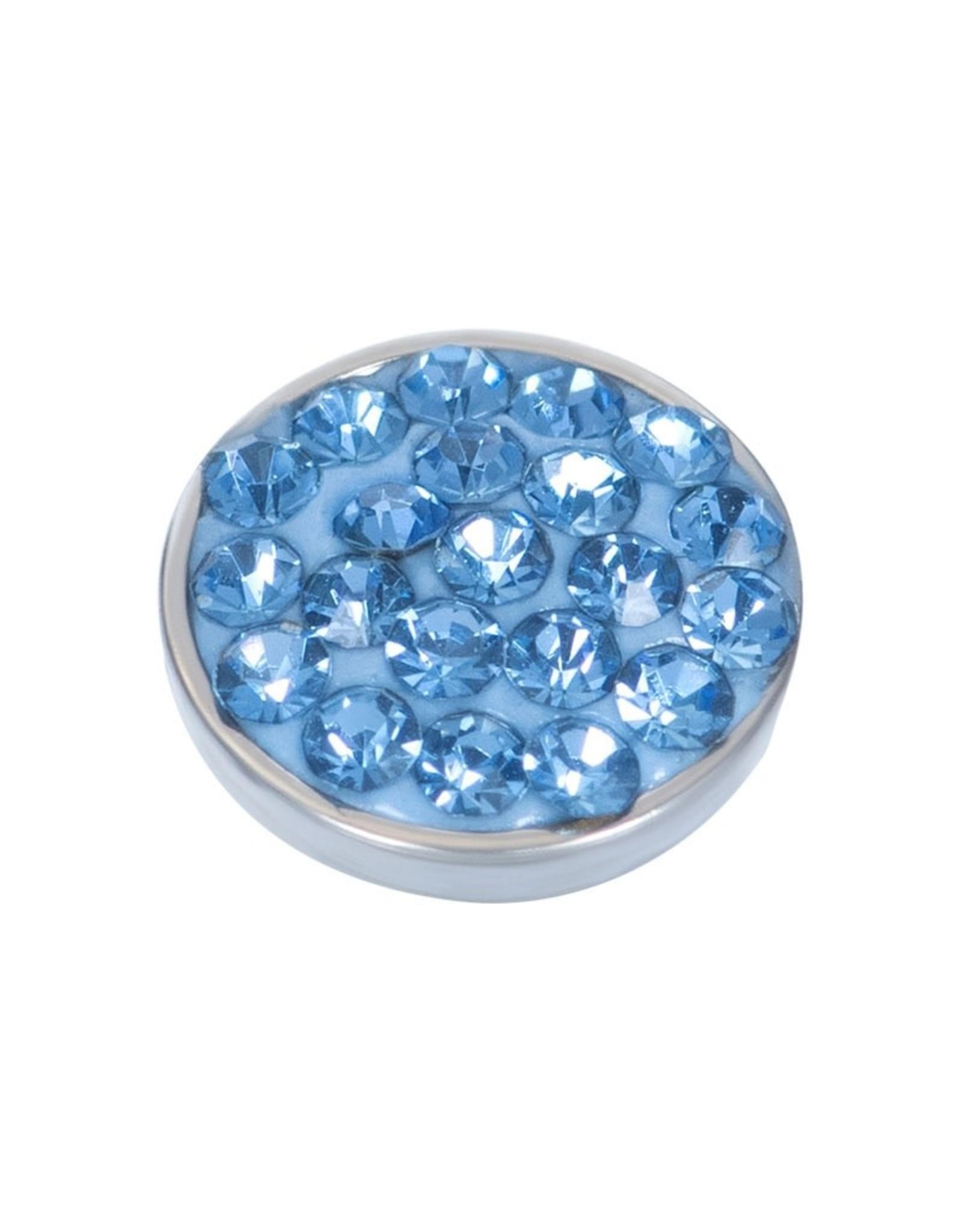 iXXXi Jewelry iXXXi top part light sapphire stone