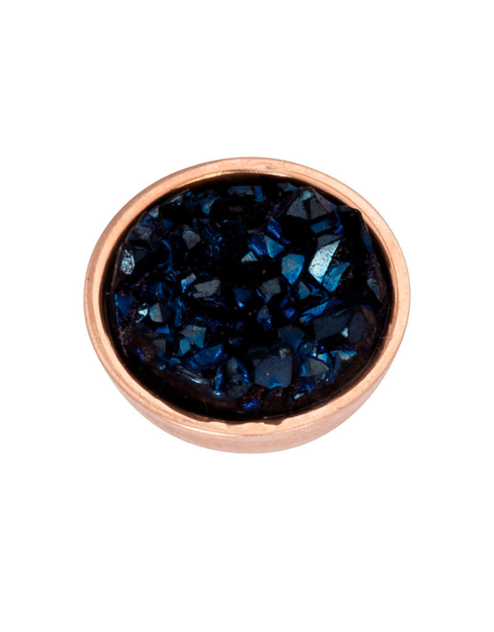 iXXXi Jewelry iXXXi top part drusy dark blue