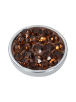 iXXXi Jewelry iXXXi top part smoked topaz crystal