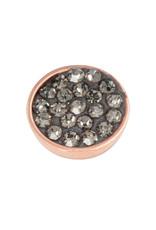 iXXXi Jewelry iXXXi top part black diamond stone