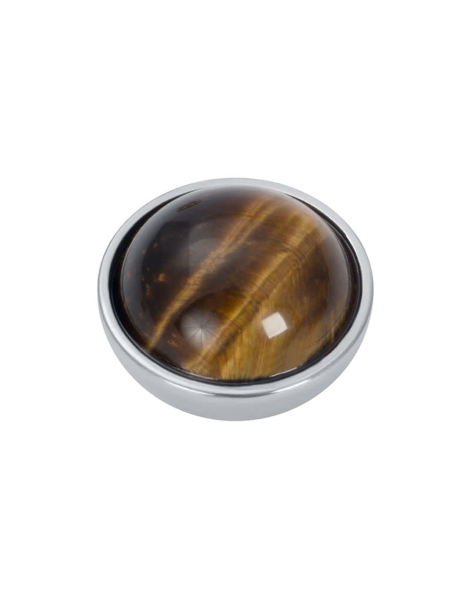 iXXXi Jewelry iXXXi top part brown amber stone