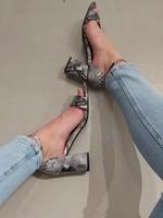 Fabs Shoes Fabs blokhakjes snake