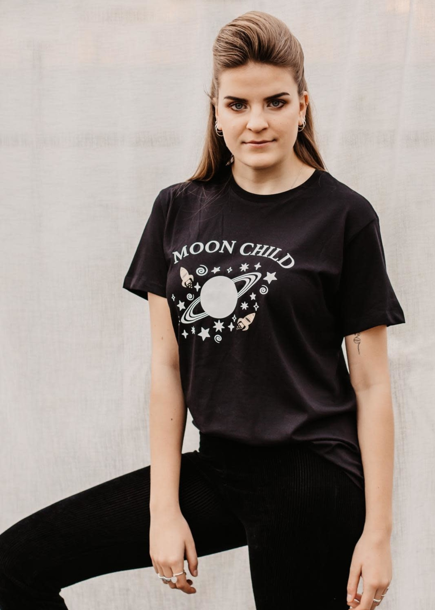 Studio Mays Studio Mays Shirt - Moon Child