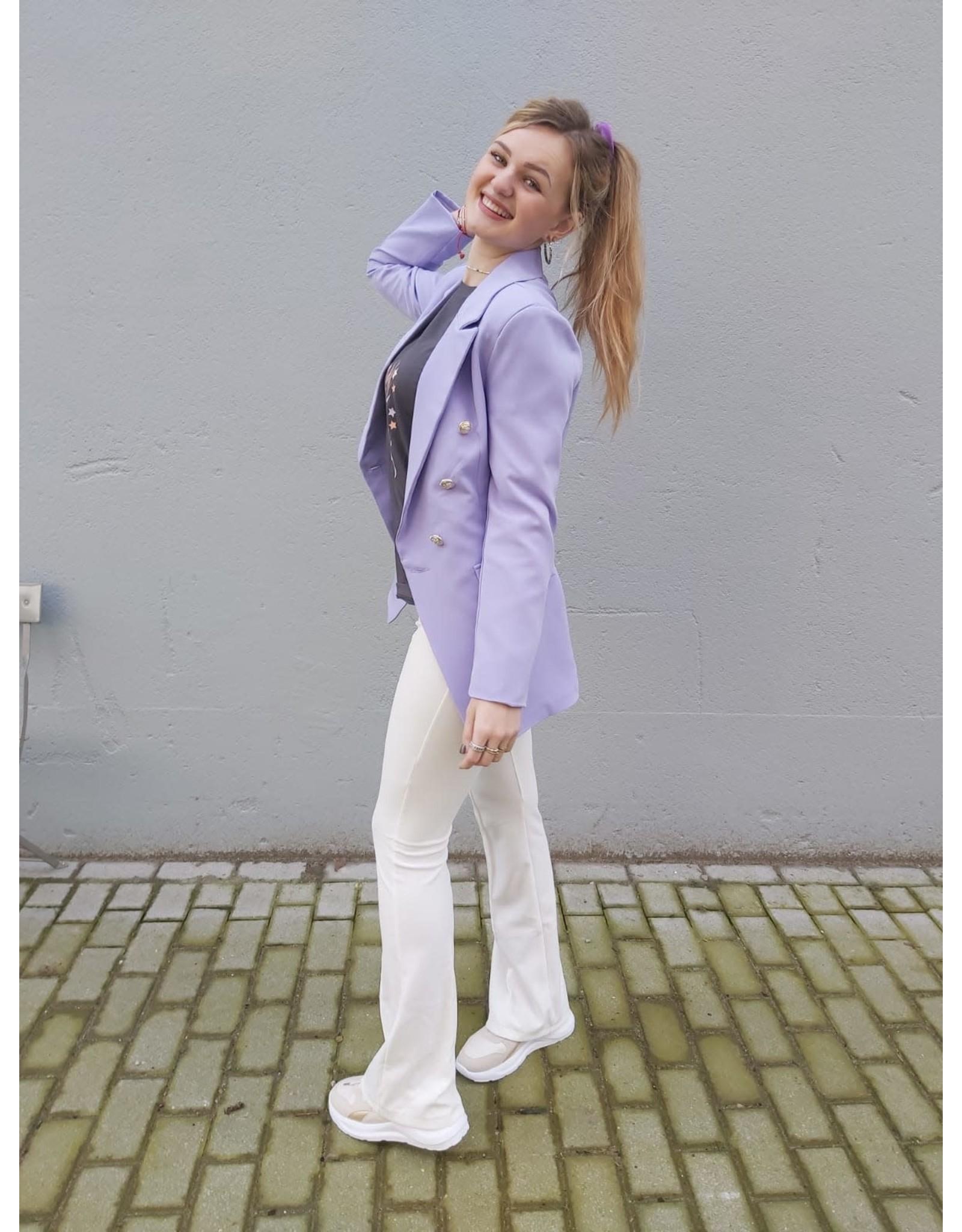 L'Avenue Blazer lila