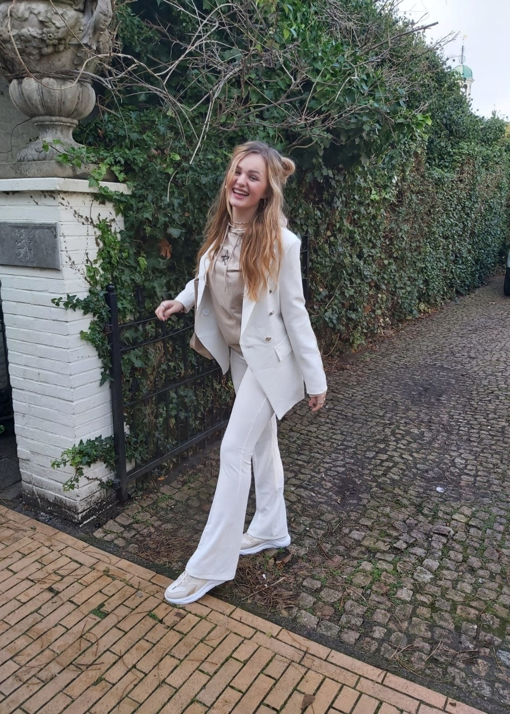 L'Avenue Blazer off white