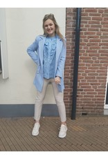 L'Avenue Blazer Jas Noor - licht blauw