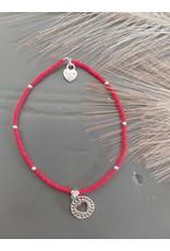 Joy Bali JOY Jamaica armband rood