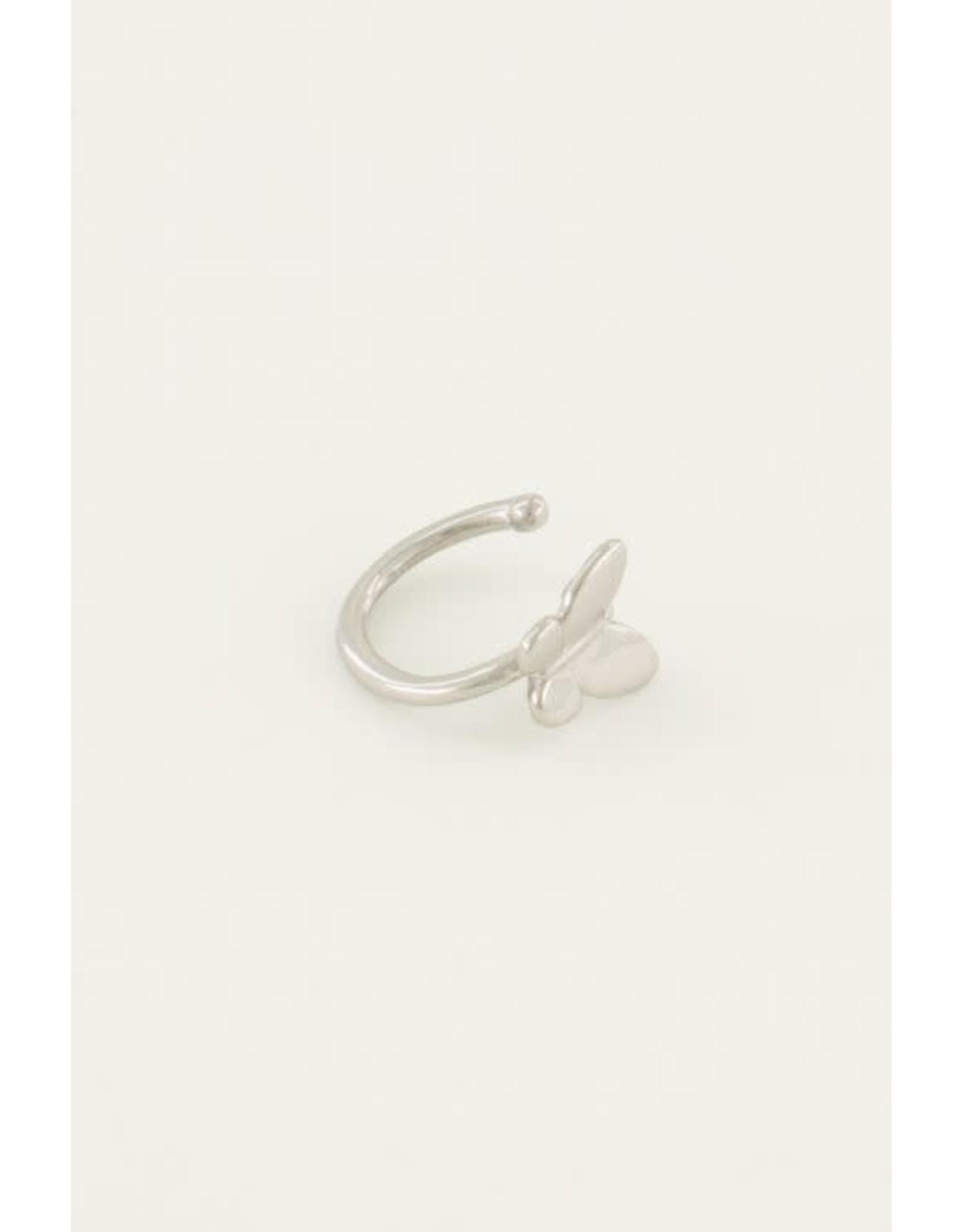 My Jewellery My Jewellery ear cuff vlinder