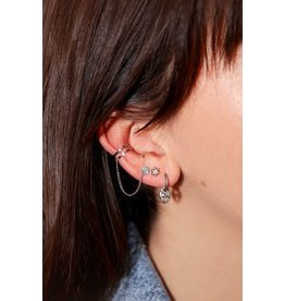 My Jewellery My Jewellery ear cuff smiley stud