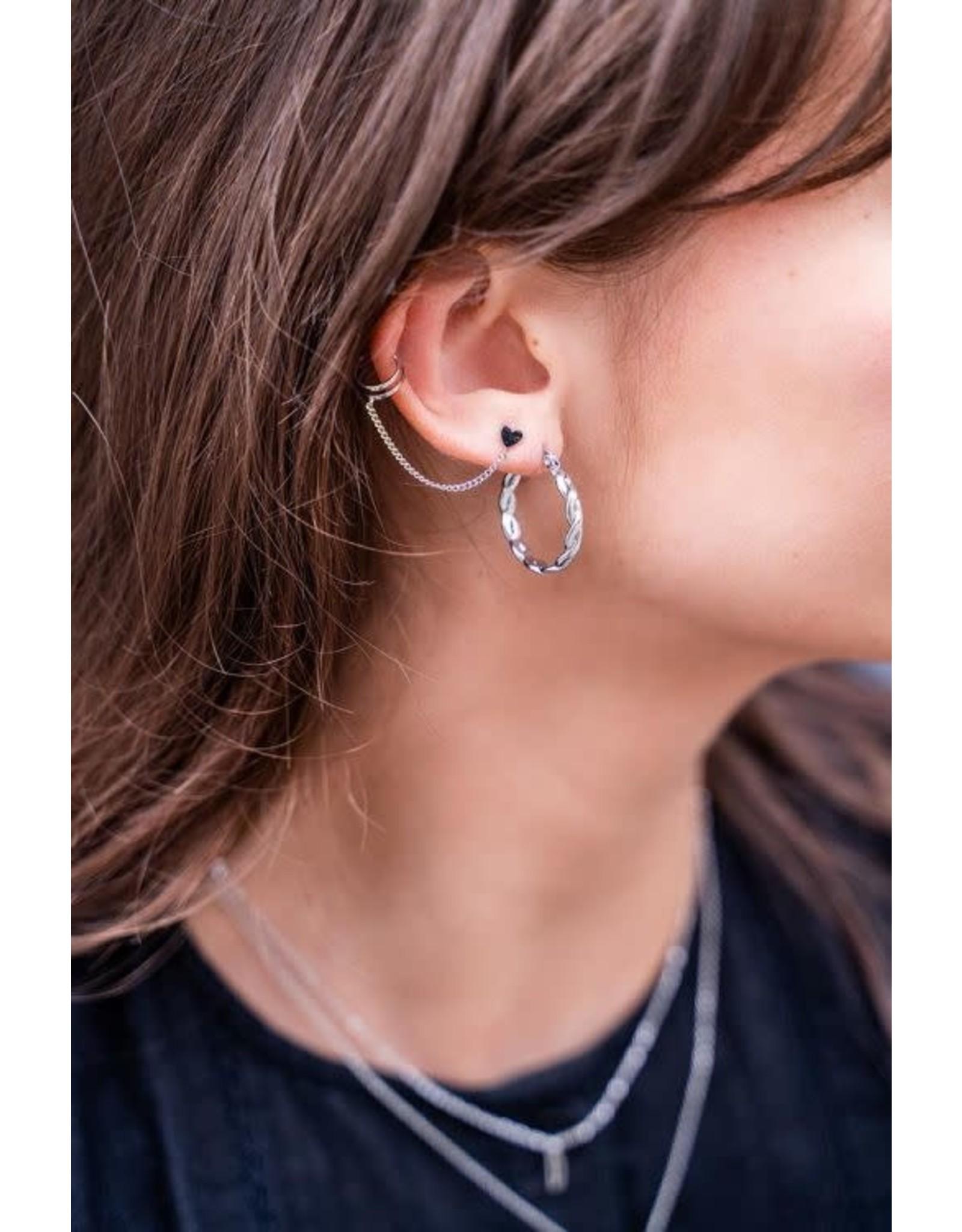 My Jewellery My Jewellery ear cuff hartjes stud