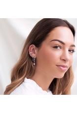 My Jewellery My Jewellery ear cuff dubbele strass