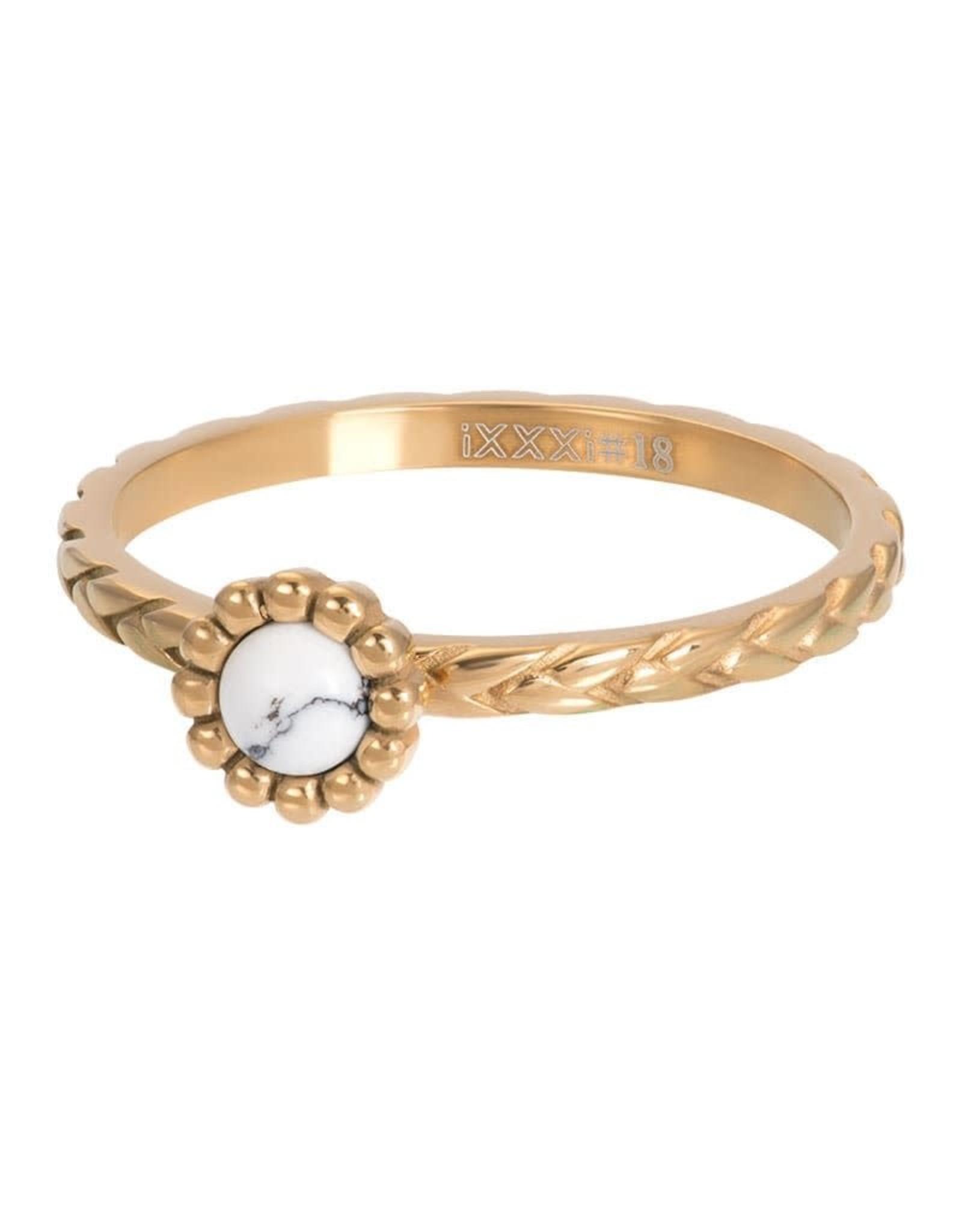 iXXXi Jewelry iXXXi vulring inspired white - goud