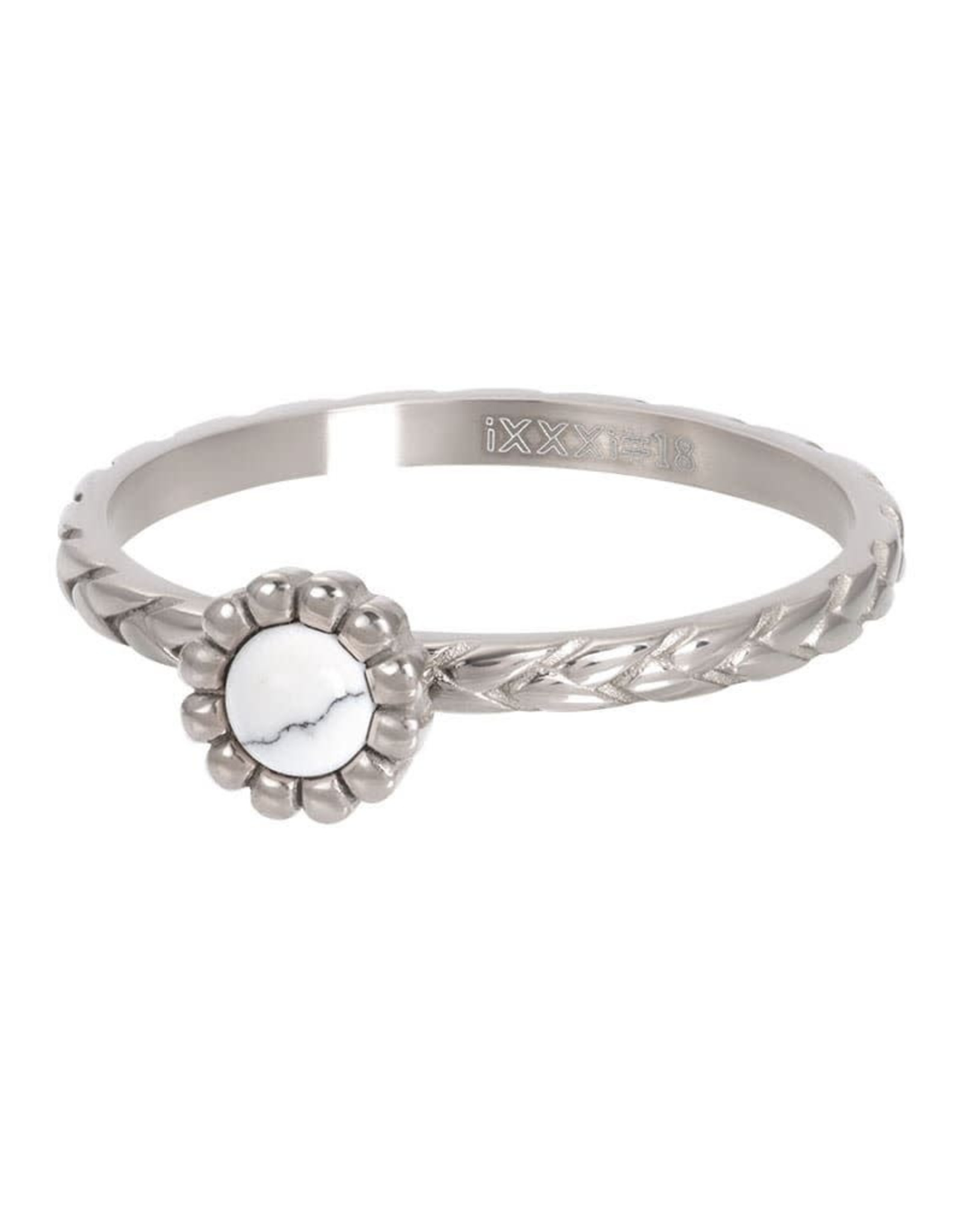 iXXXi Jewelry iXXXi vulring inspired white - staal