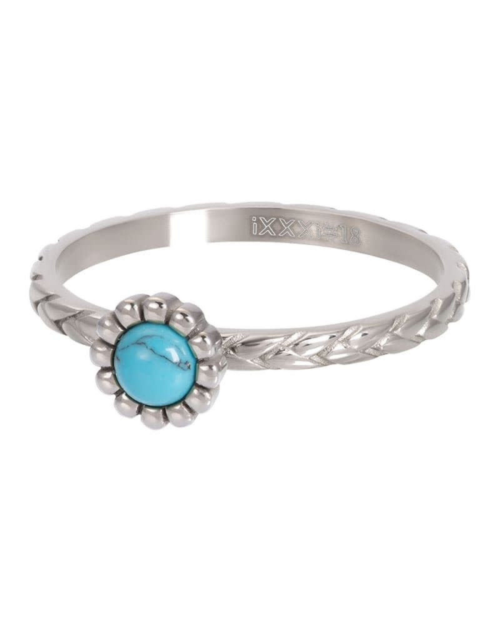 iXXXi Jewelry iXXXi vulring inspired turquoise - staal