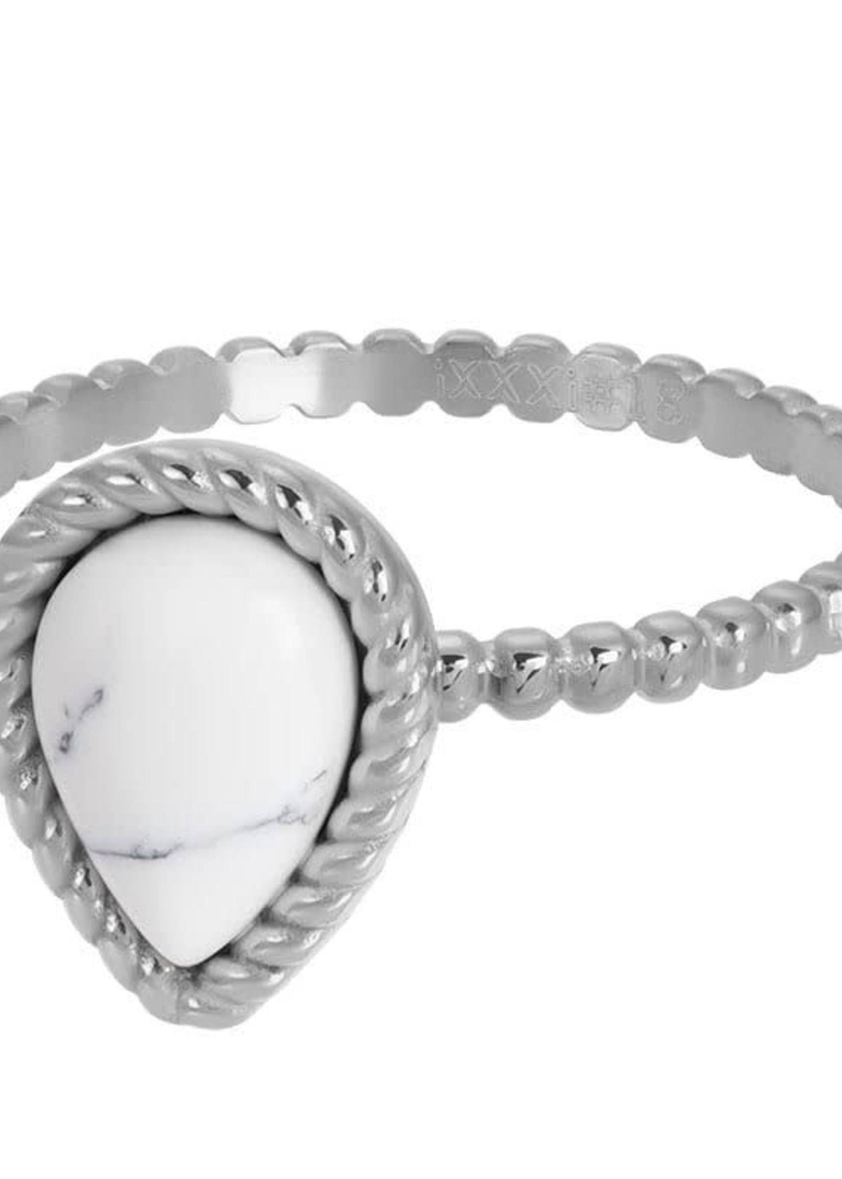 iXXXi Jewelry iXXXi vulring Magic white - staal