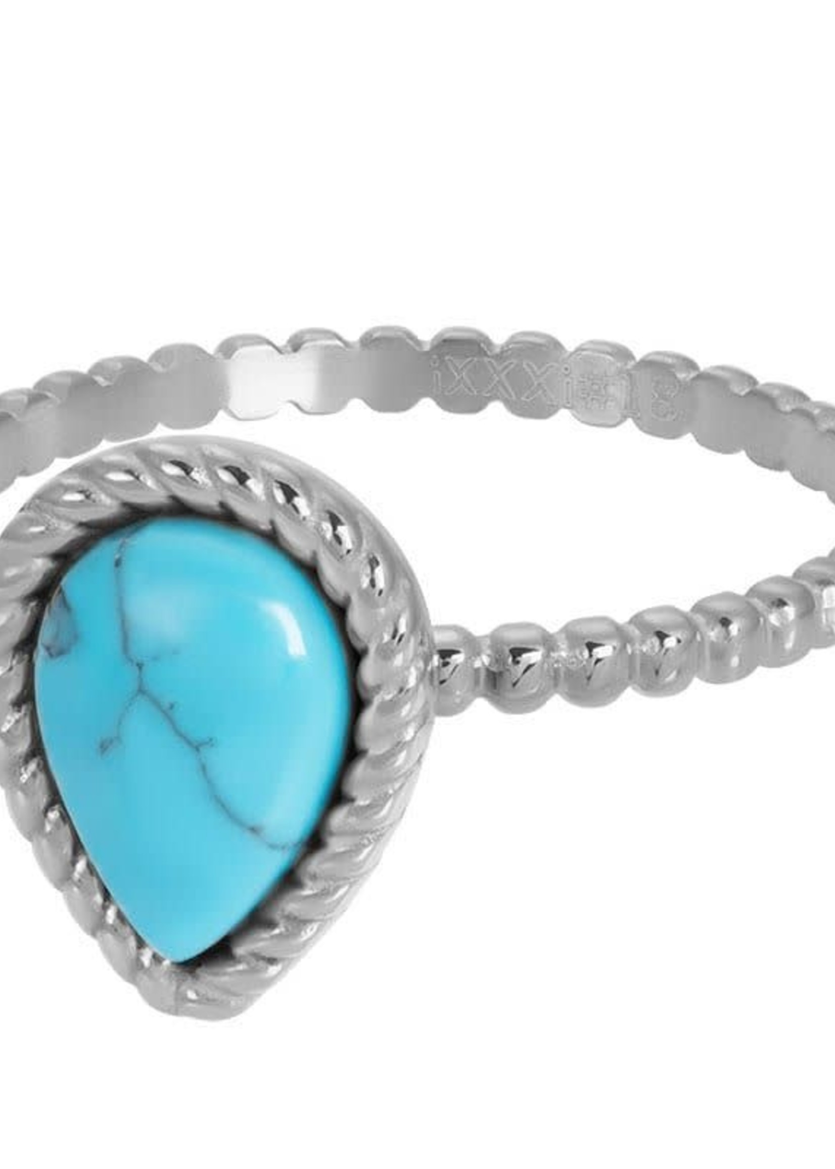iXXXi Jewelry iXXXi vulring Magic turquoise - staal