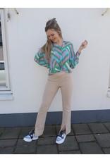 Turquoise Blouse Olivia