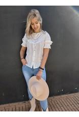 Ambika Ambika blouse Isa - wit