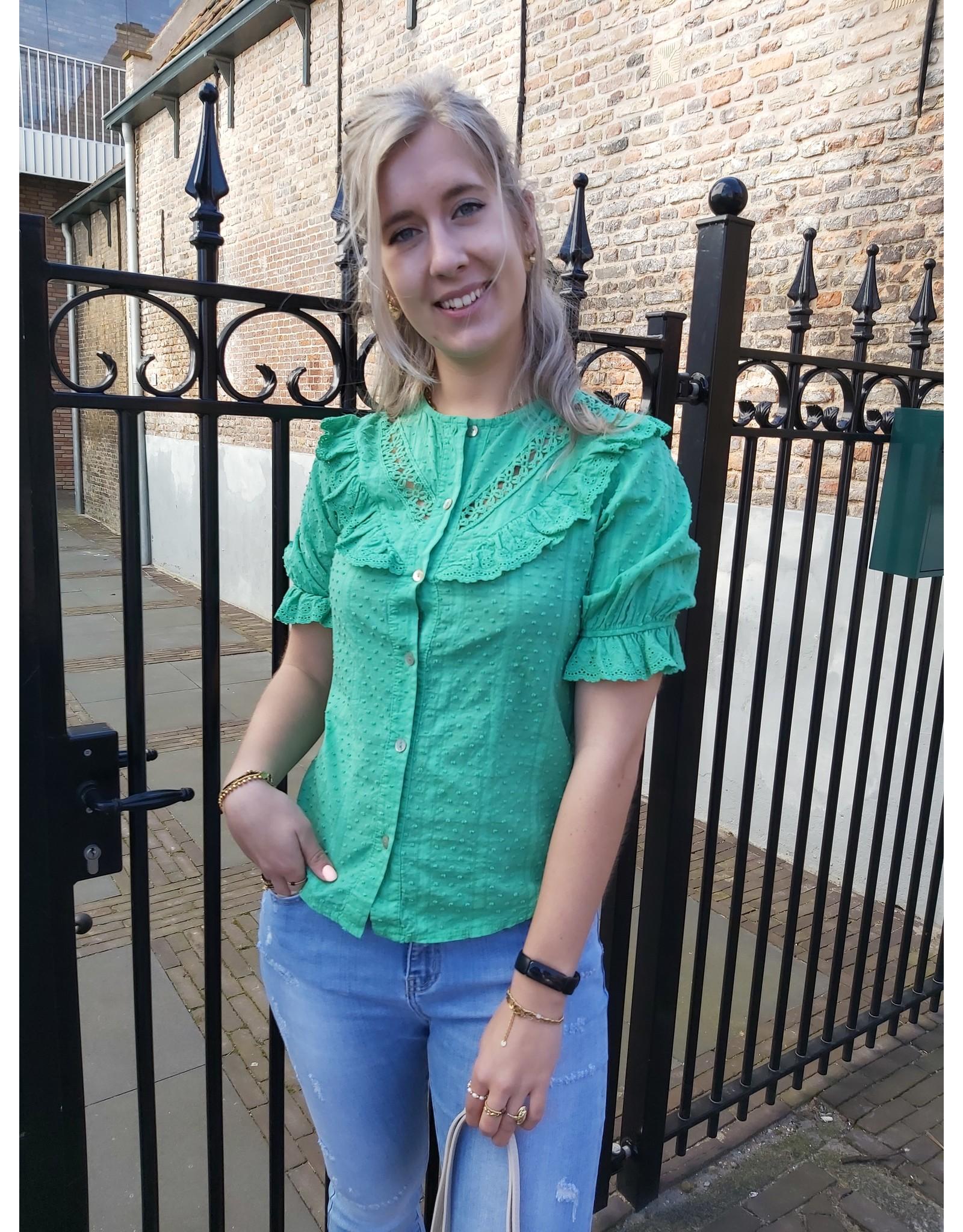 Ambika blouse Isa - groen
