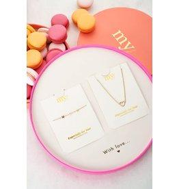 My Jewellery My Jewellery MOM giftbox armband en ketting