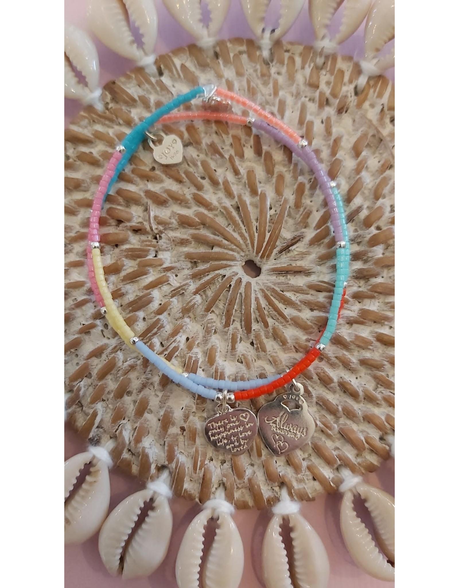 Joy Bali Joy Jamaica armband Colorful