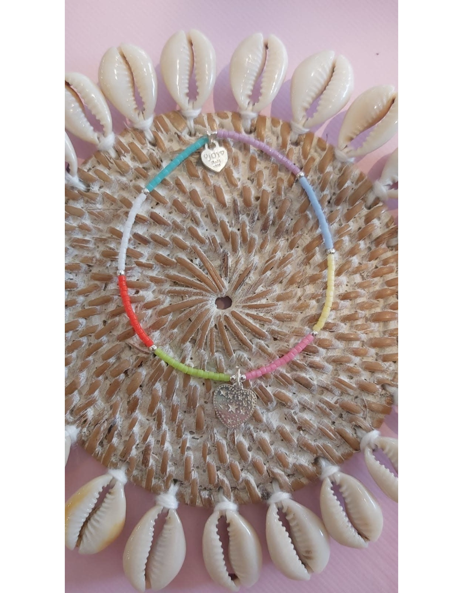 Joy Bali Joy Jamaica armband Etoiles pastel mix
