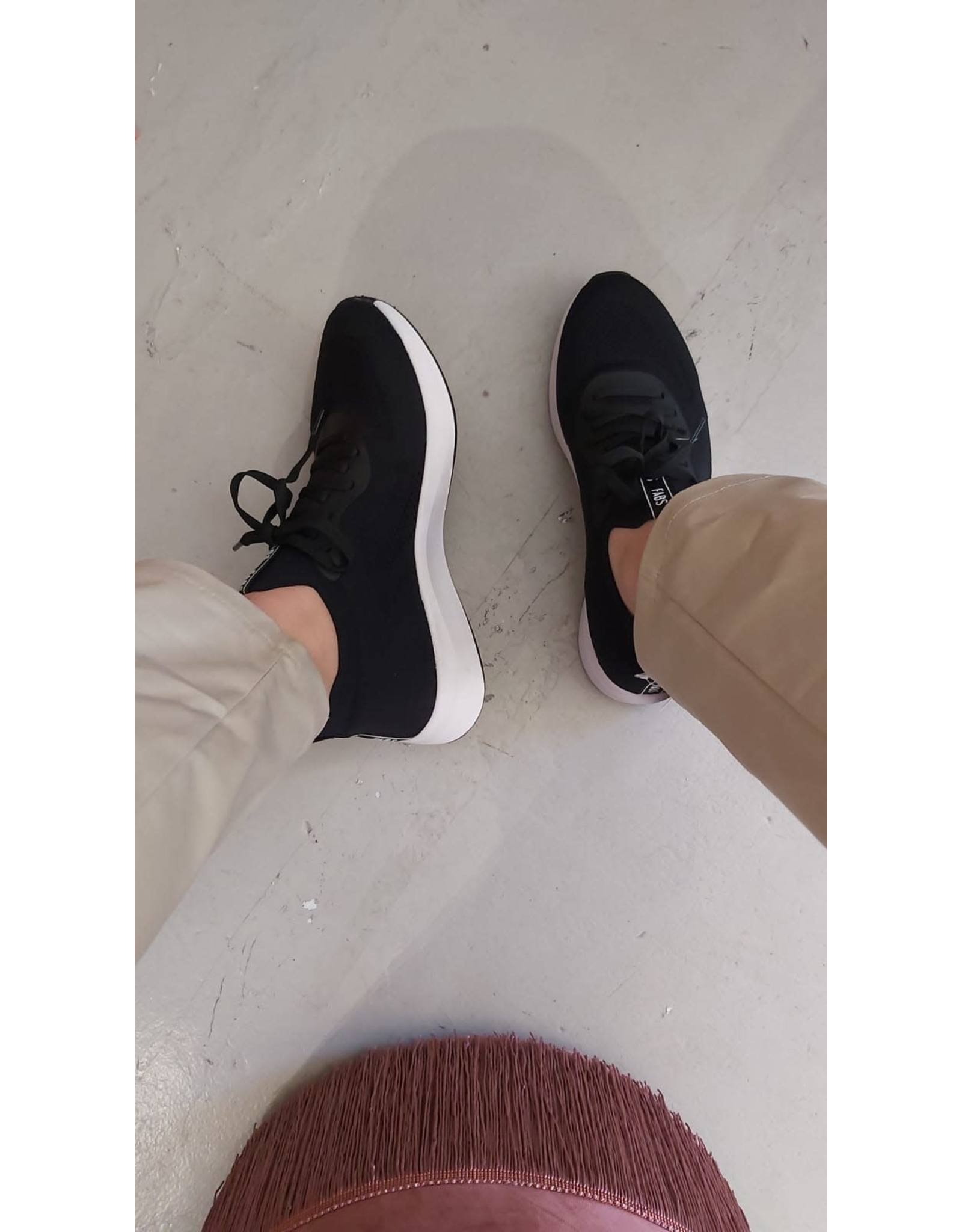 Fabs Shoes Fabs sneakers Emmy - zwart