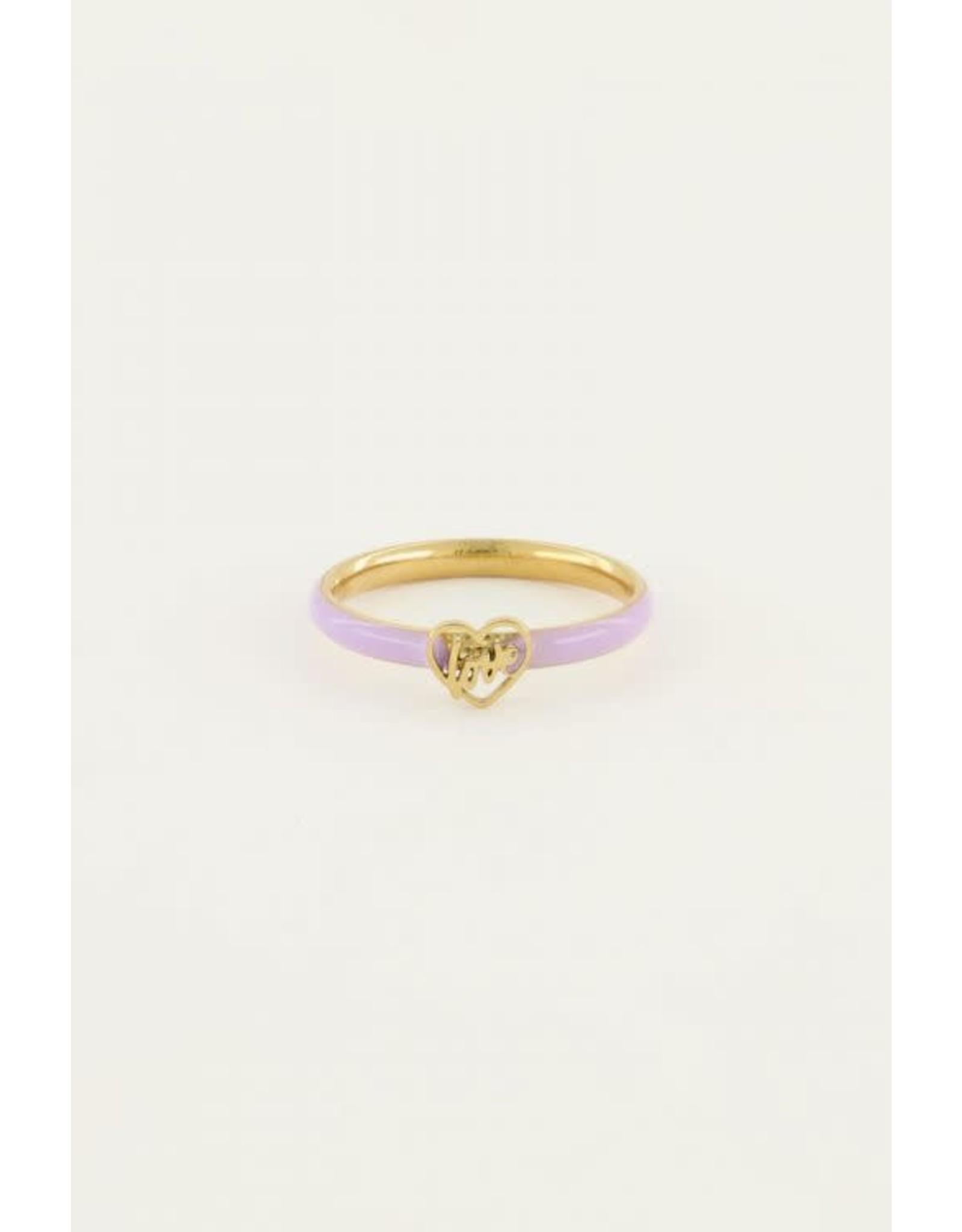 My Jewellery My Jewellery ring lila love