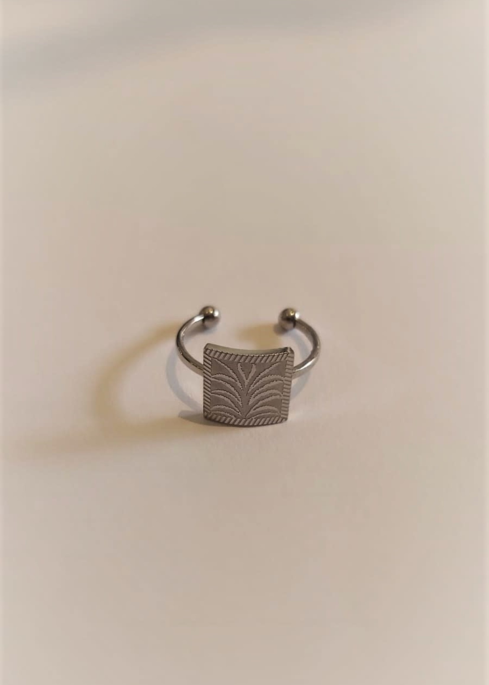 My Jewellery My Jewellery ring plaatje met palmboom