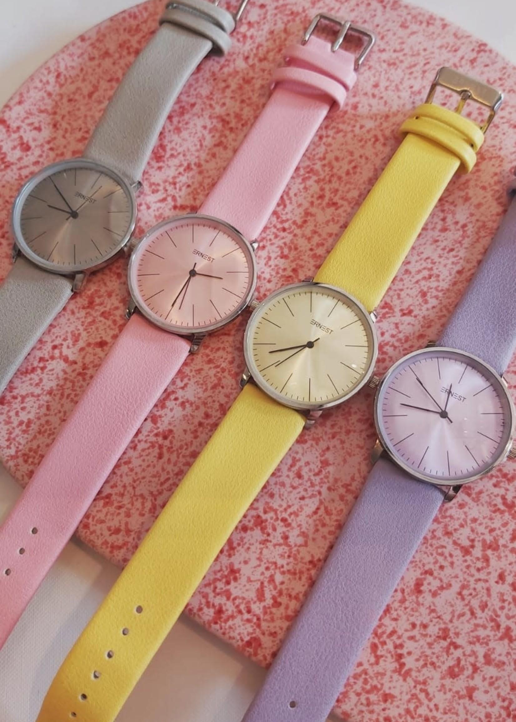 Pastel horloges