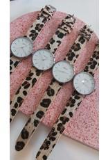 Panterprint horloge