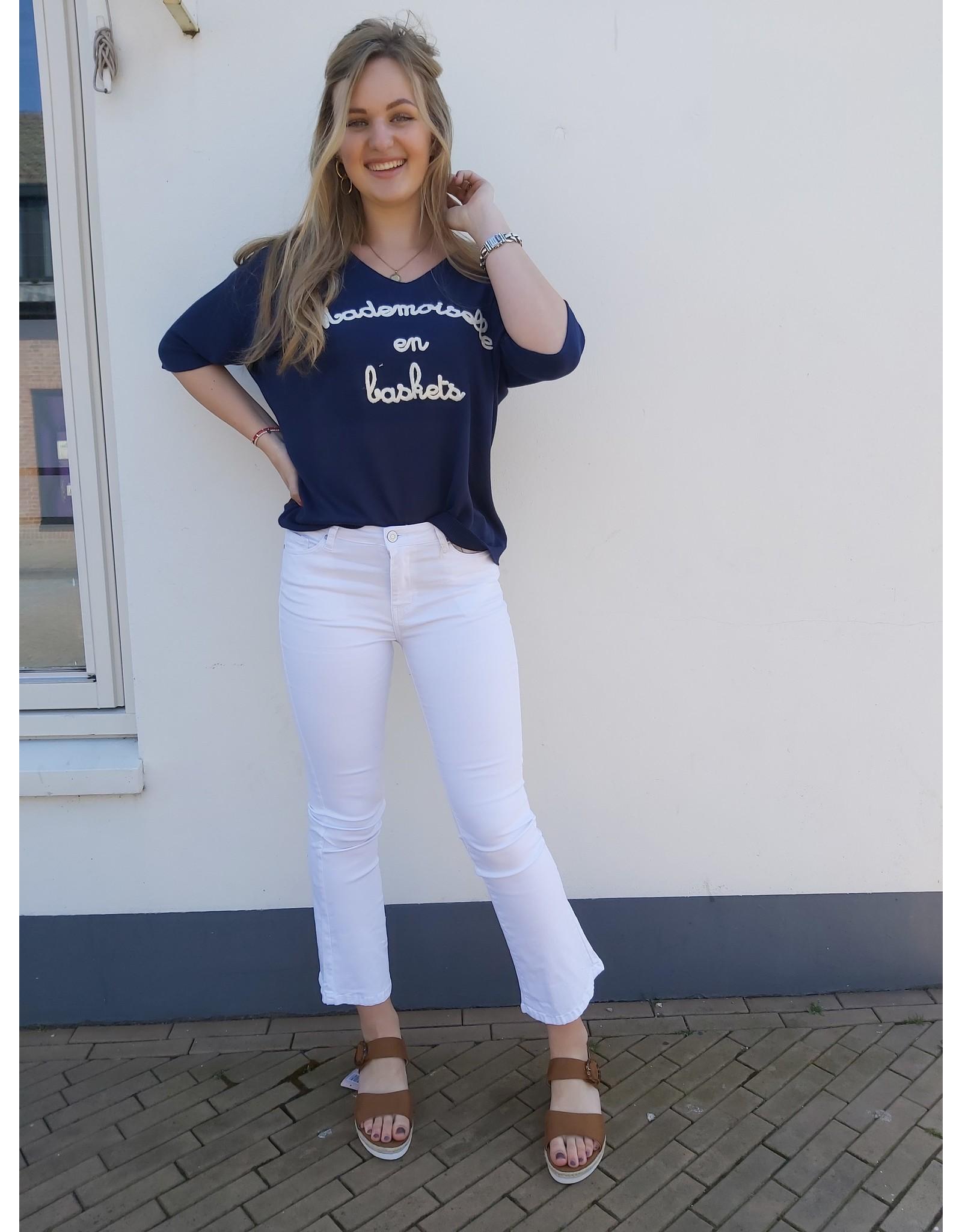 Nina Carter Flair Jeans wit