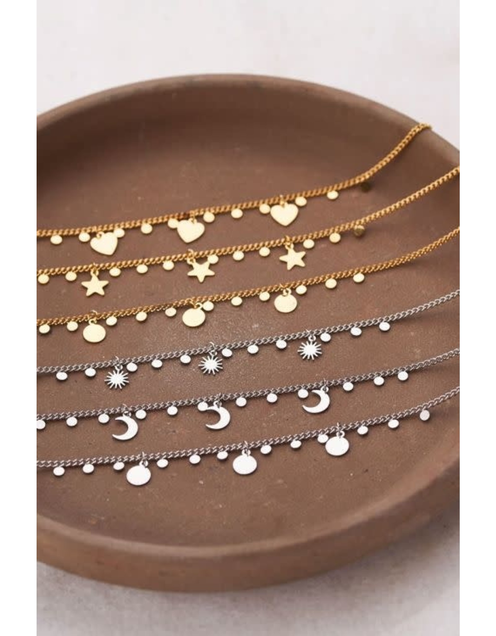 My Jewellery My Jewellery armband zonnetjes en bedels