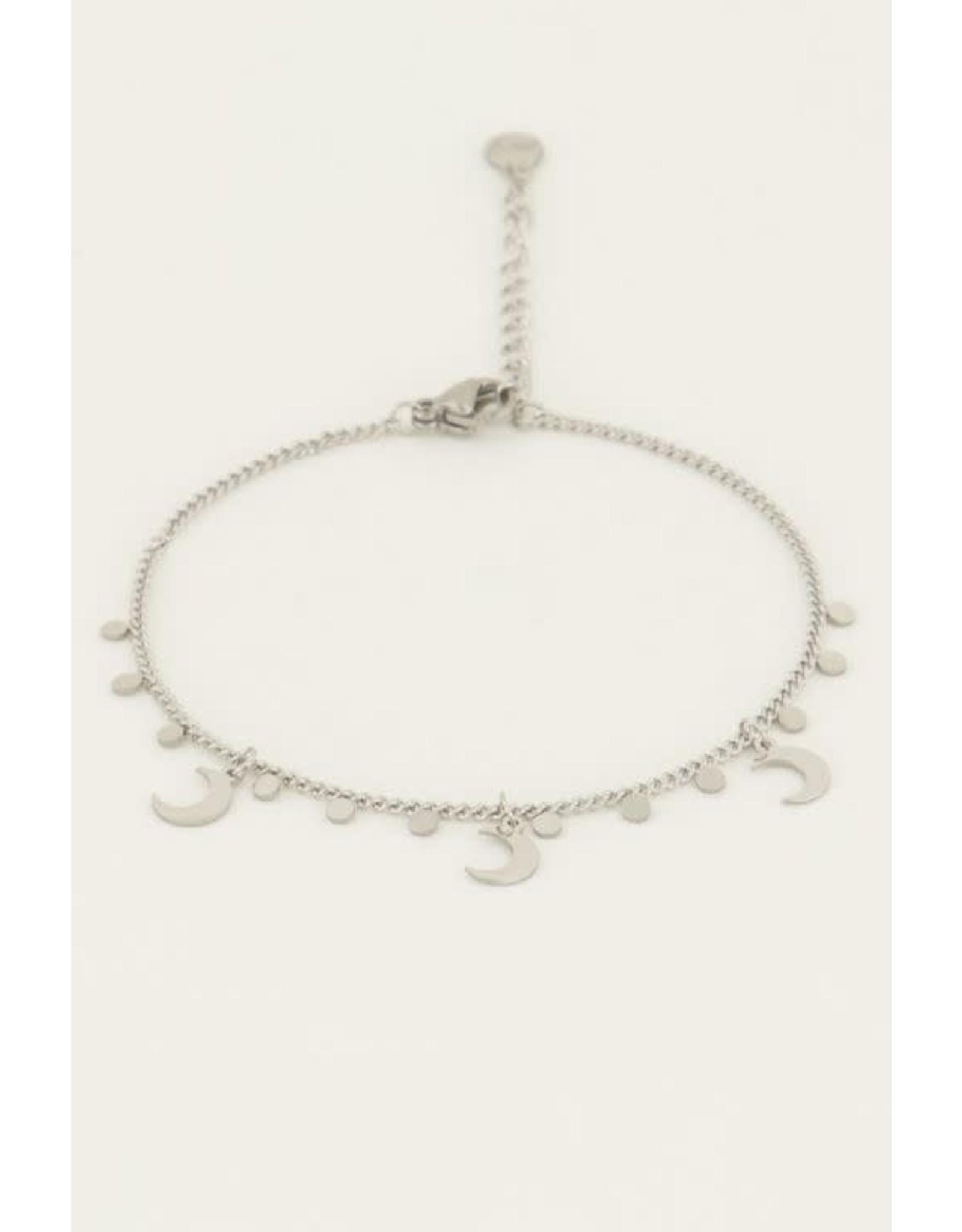 My Jewellery My Jewellery armband maantjes en bedels