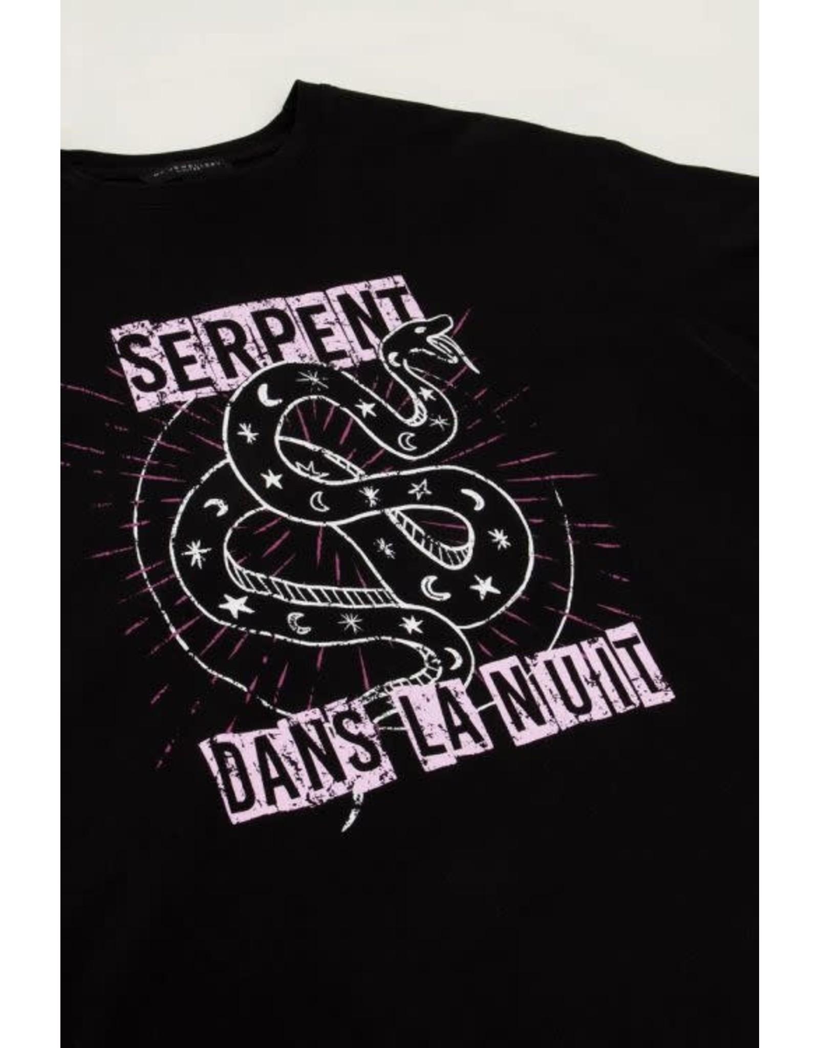 My Jewellery My Jewellery zwart shirt met slang