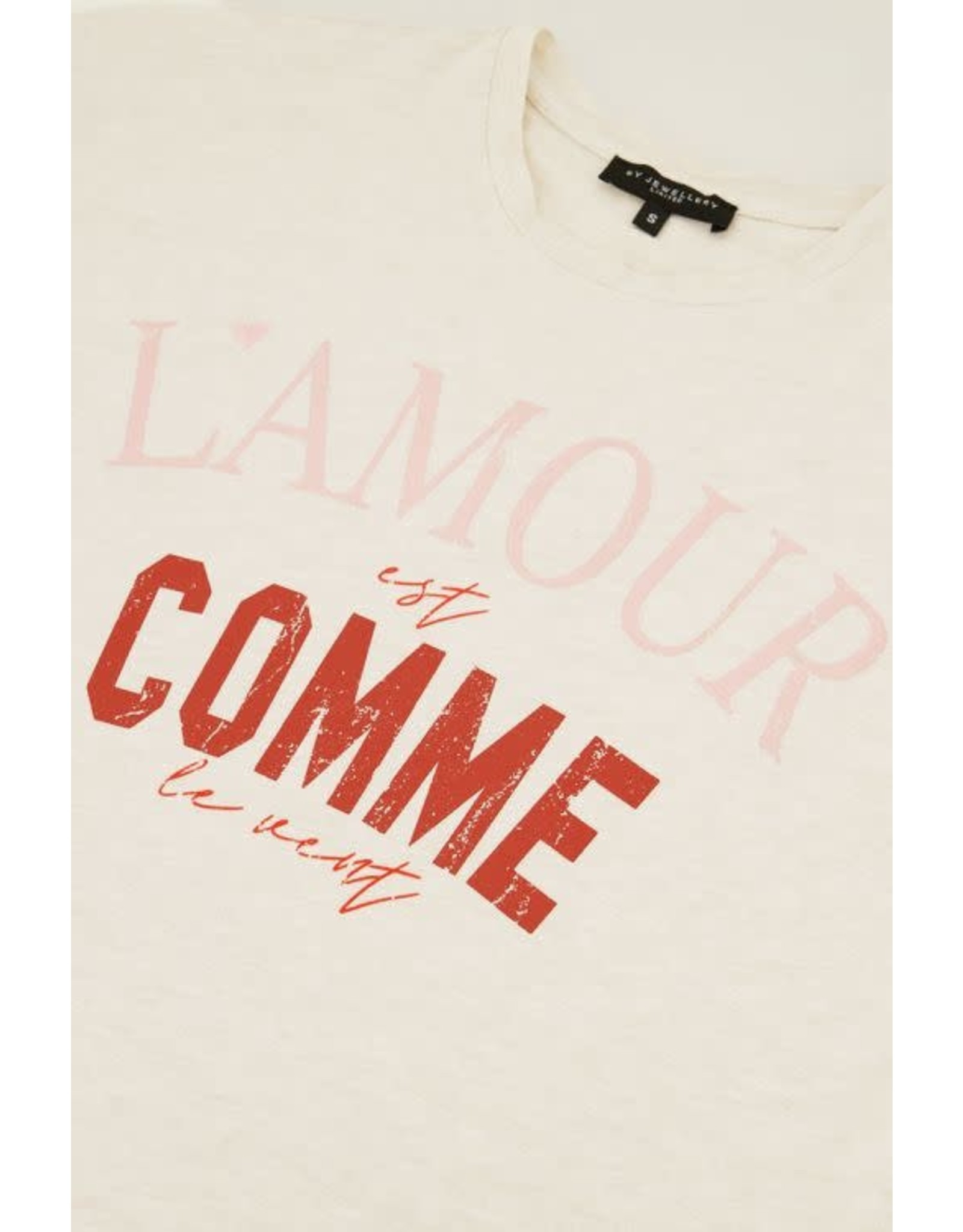 My Jewellery My Jewellery shirt L´amour est comme