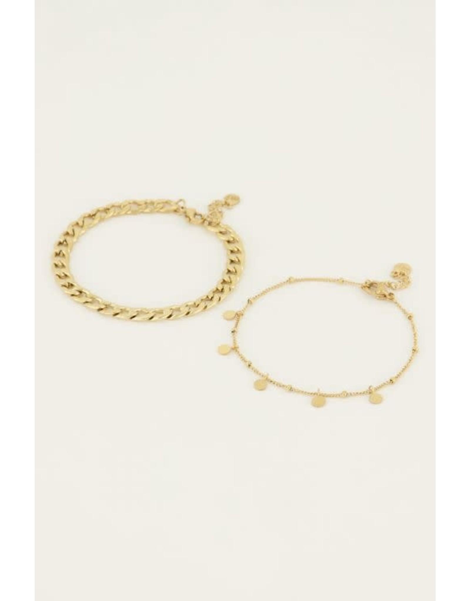 My Jewellery My Jewellery  armbanden set muntjes