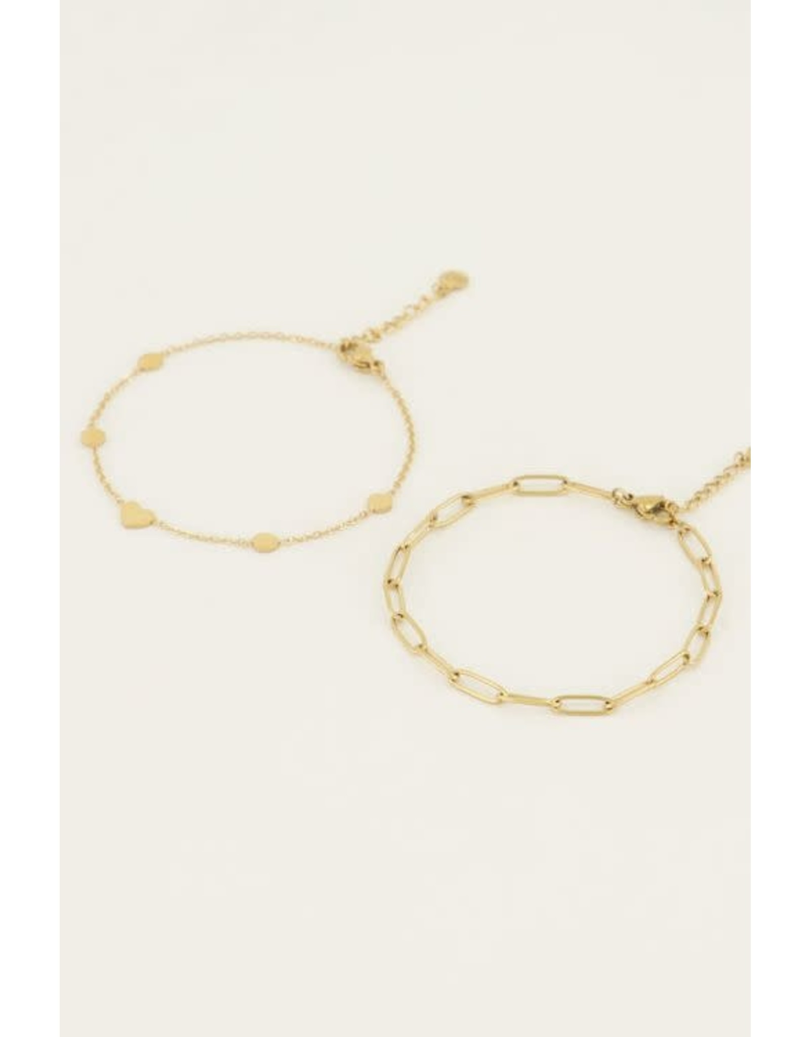 My Jewellery My Jewellery armbanden set schakel