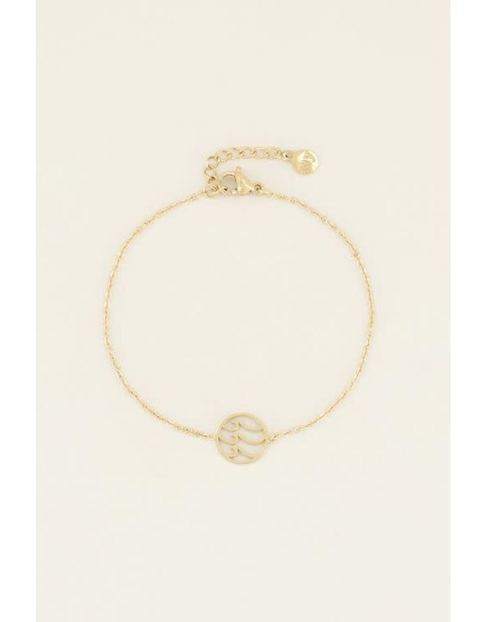 My Jewellery My Jewellery armband golfje