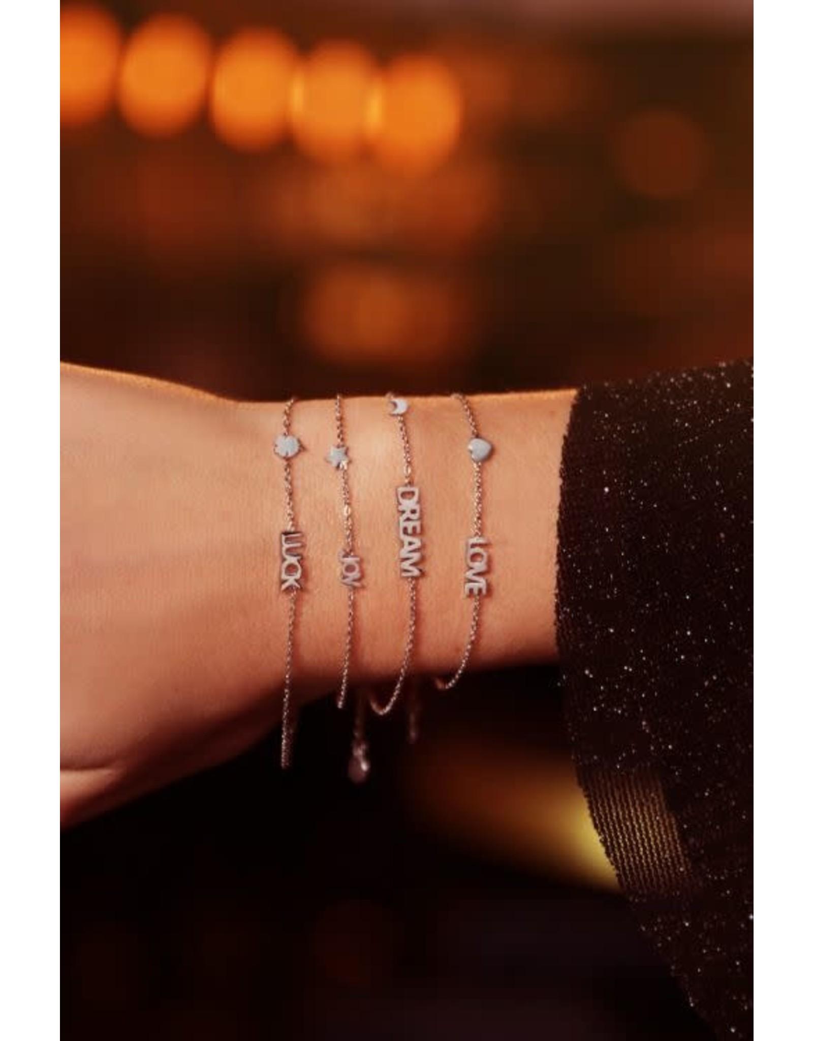 My Jewellery My Jewellery armband luck en klaver