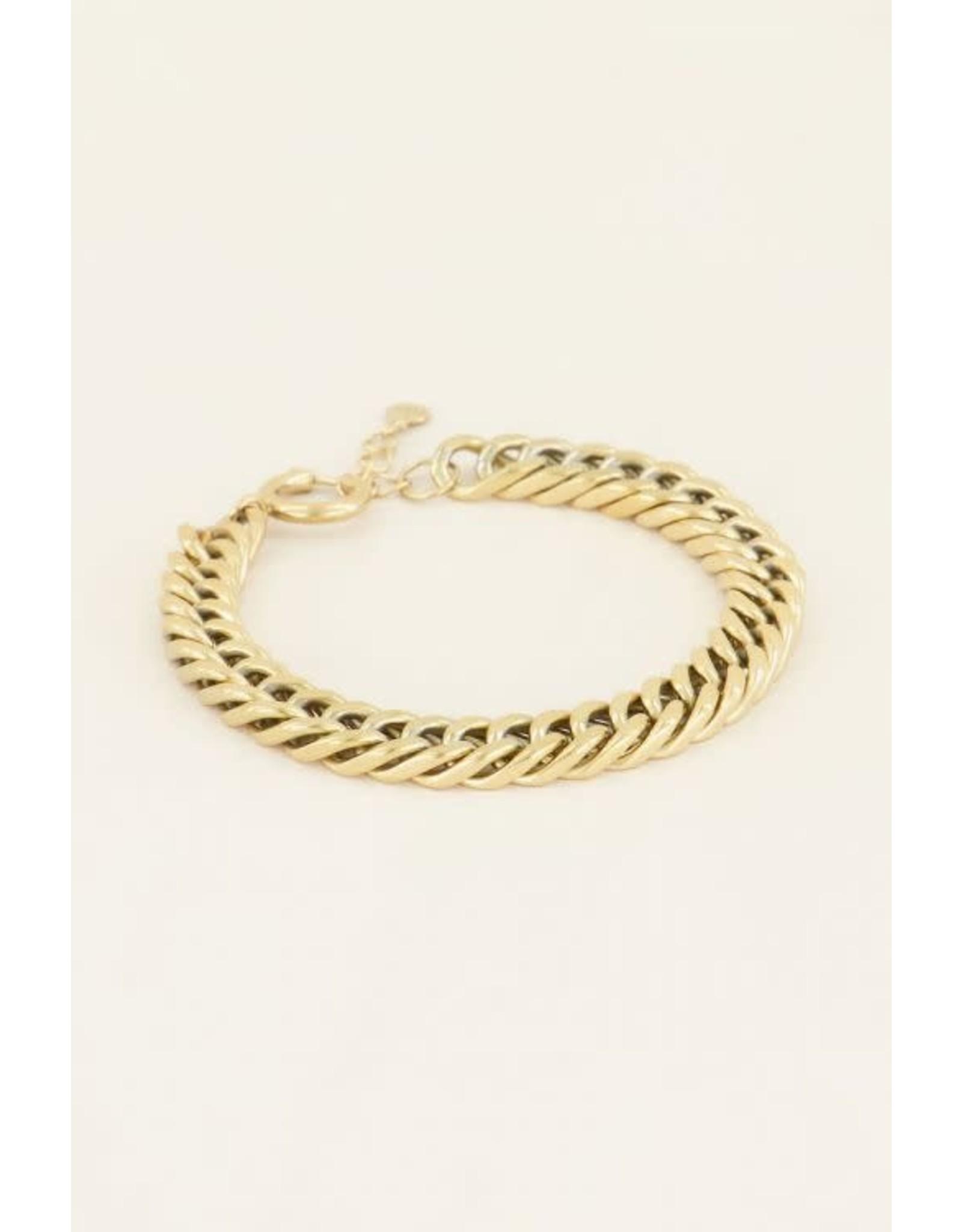 My Jewellery My Jewellery schakelarmband met ronde sluiting