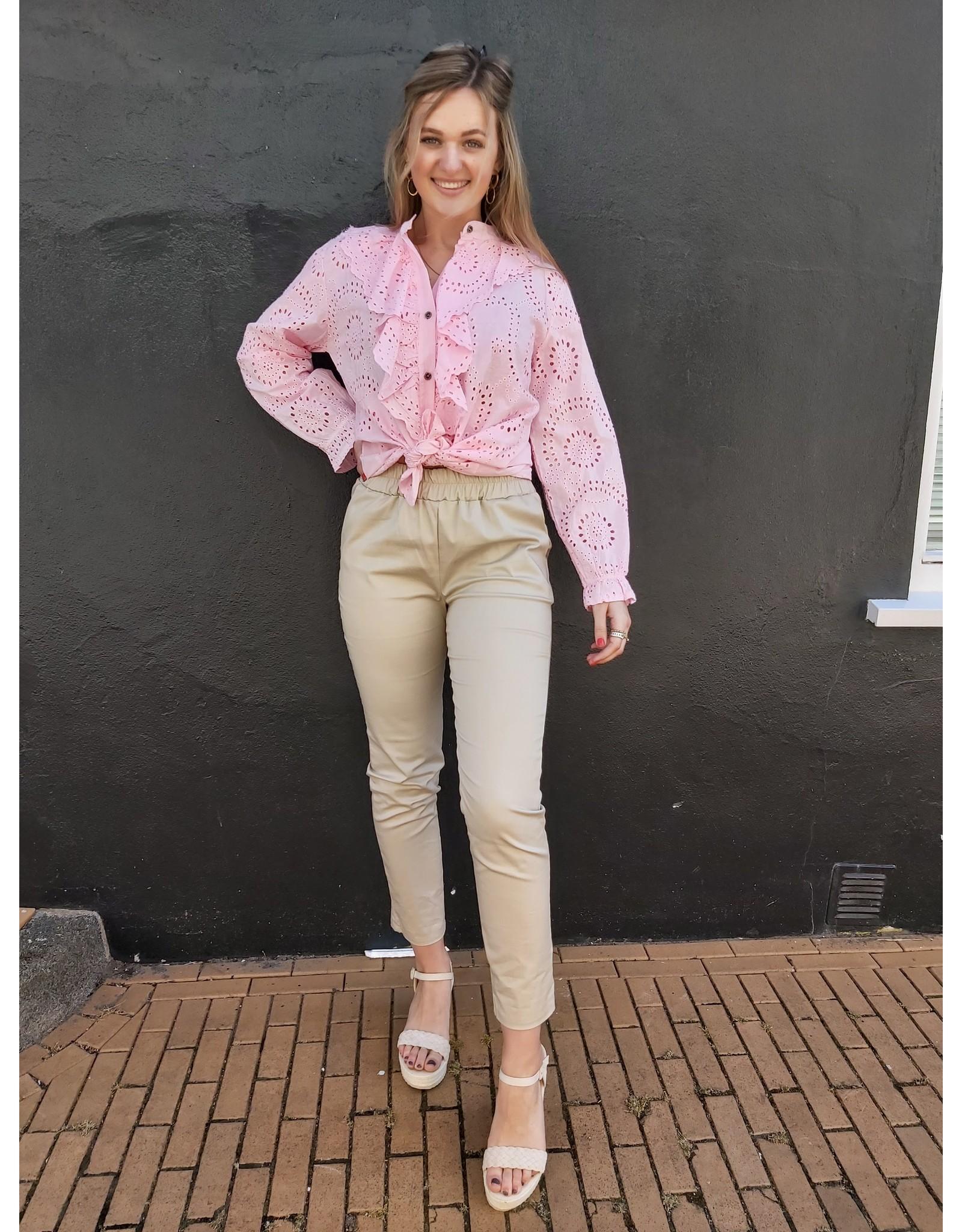L'Avenue Blouse Pink