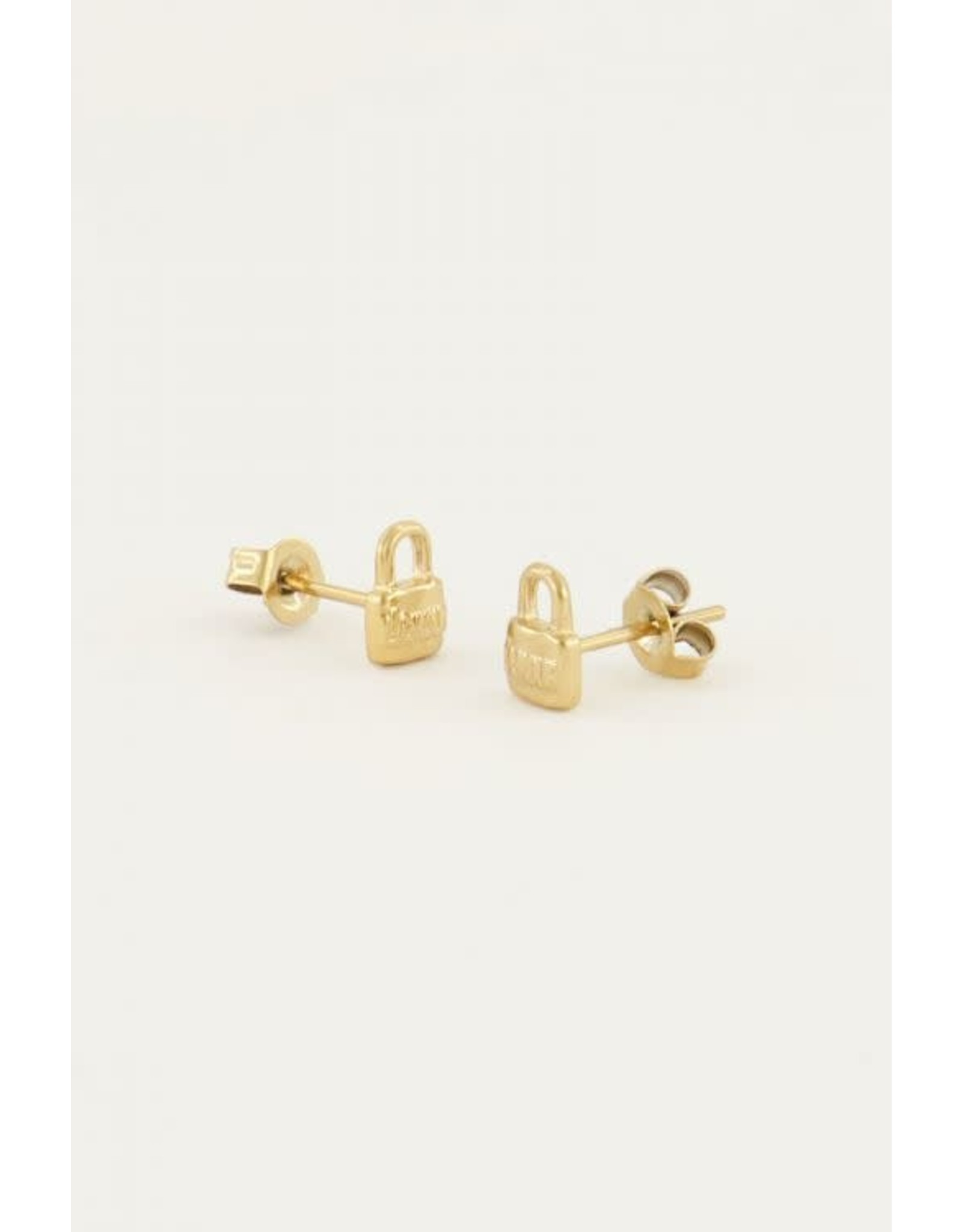My Jewellery My Jewellery earstuds - love lock