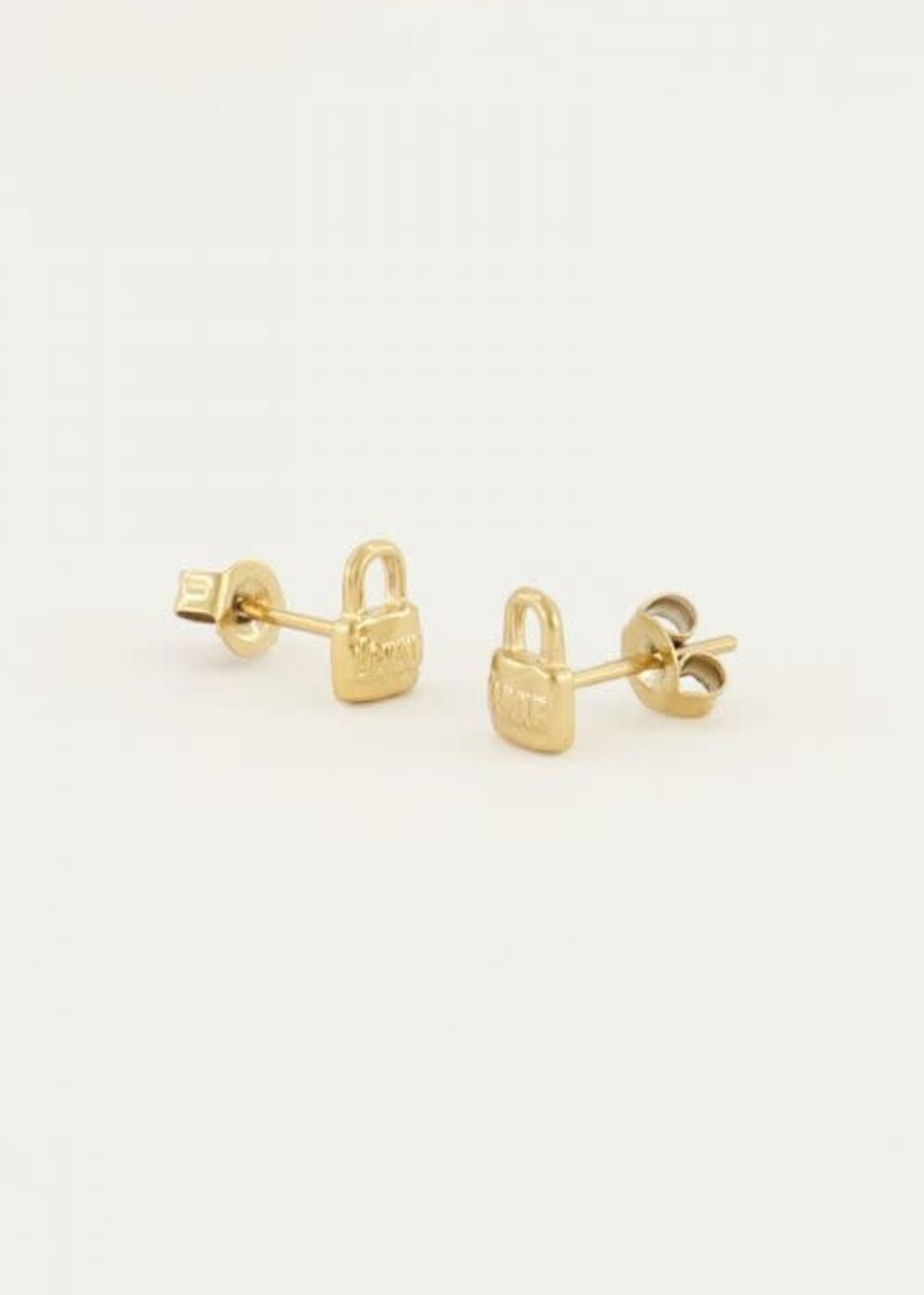 My Jewellery My Jewellery earstuds - love lock