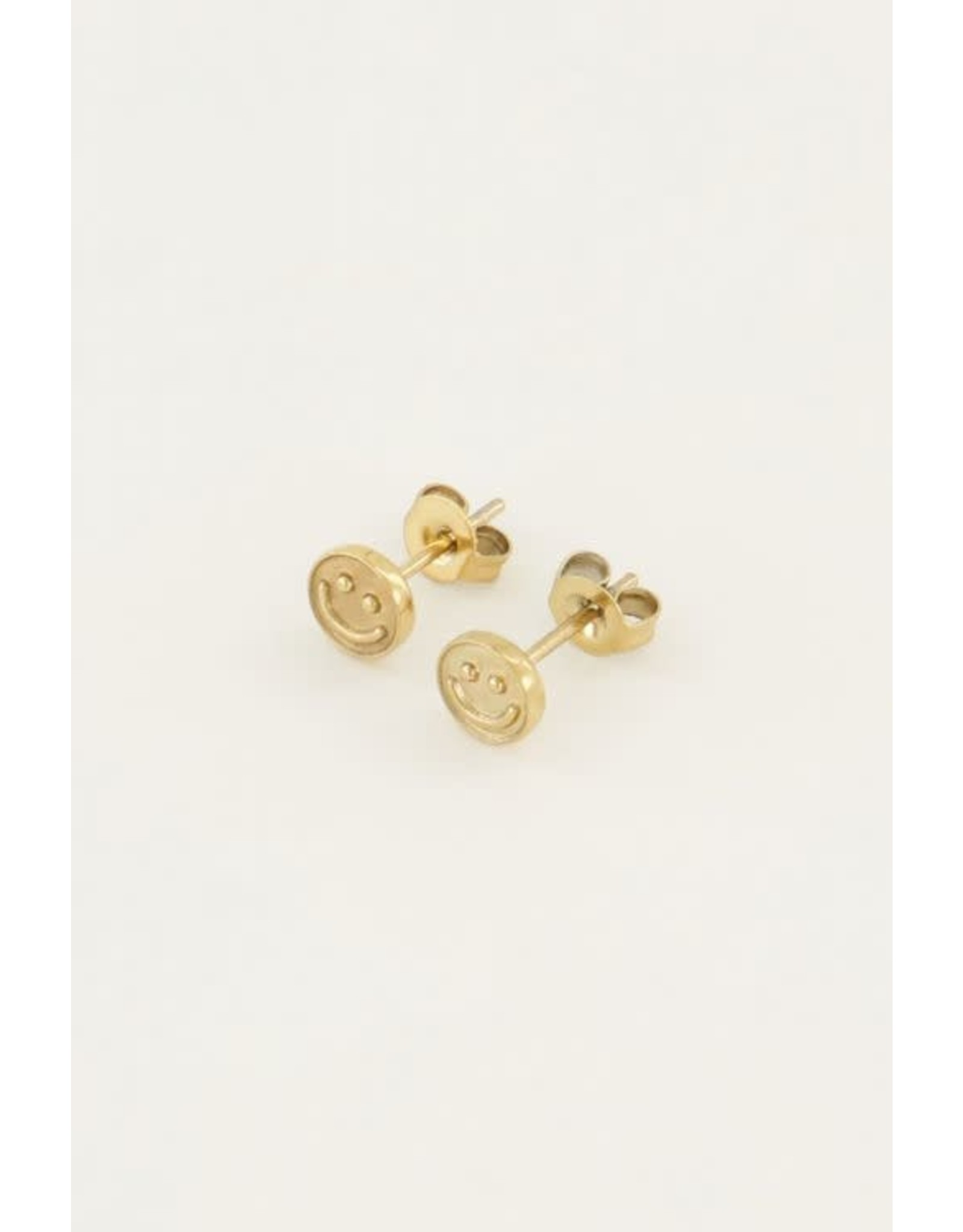 My Jewellery My Jewellery earstuds - smiley