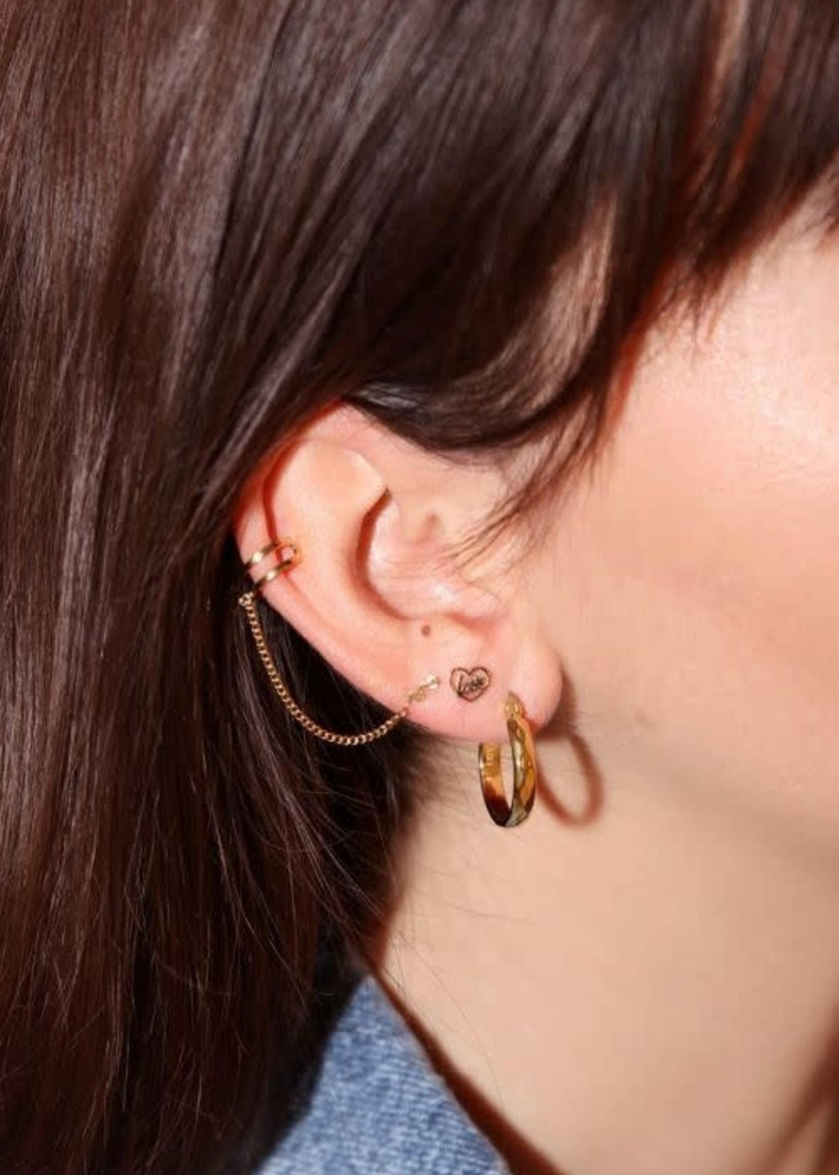 My Jewellery My Jewellery earstuds love in hartje