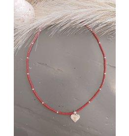 Joy Bali JOY jamaica necklace - rood