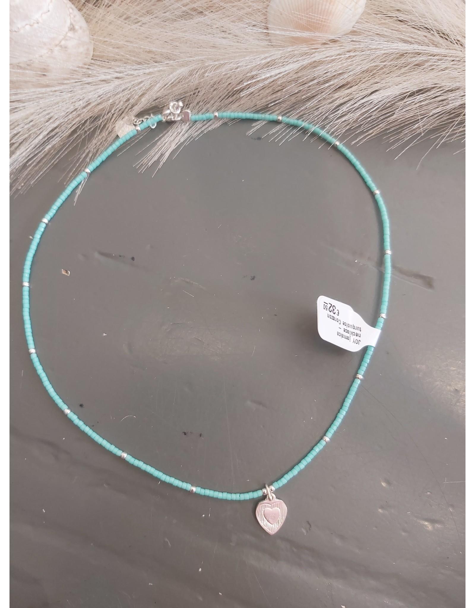 Joy Bali JOY jamaica necklace - turquoise